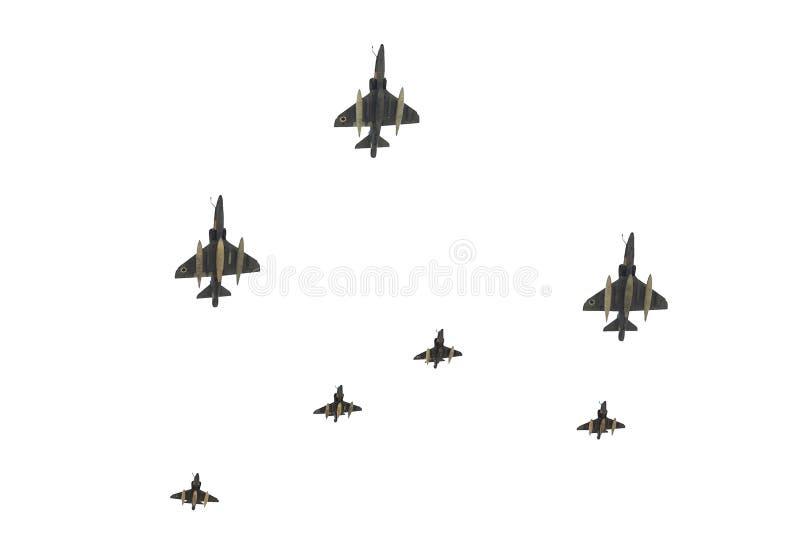 flygvapen israel ståtar royaltyfri bild