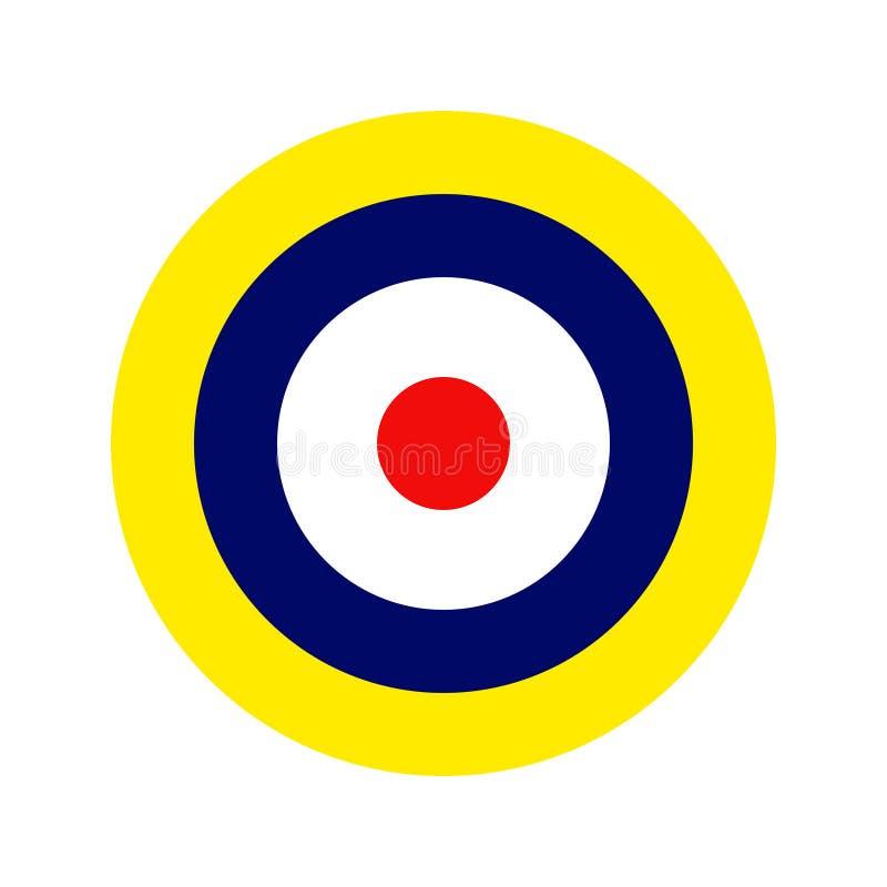 Flygvapen Roundel vektor illustrationer