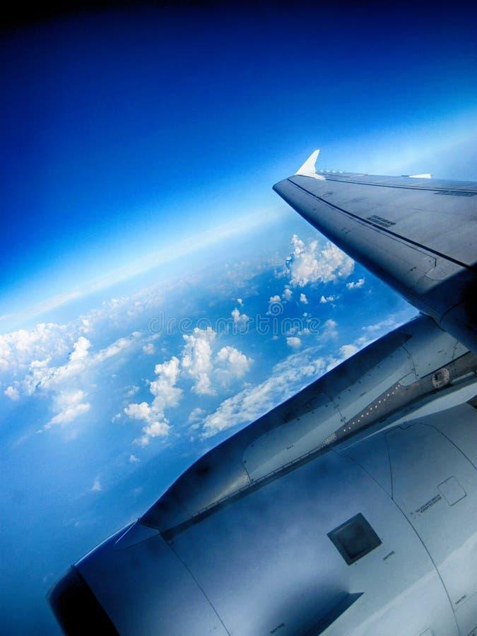 flyiing在天空 库存图片
