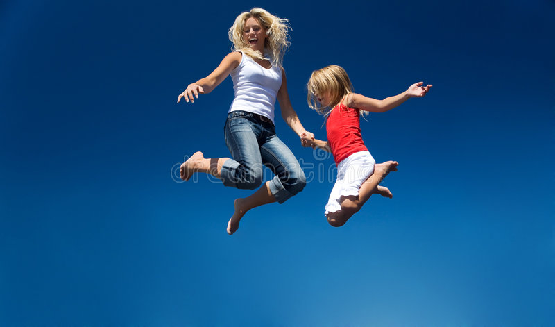 Flying royalty free stock image