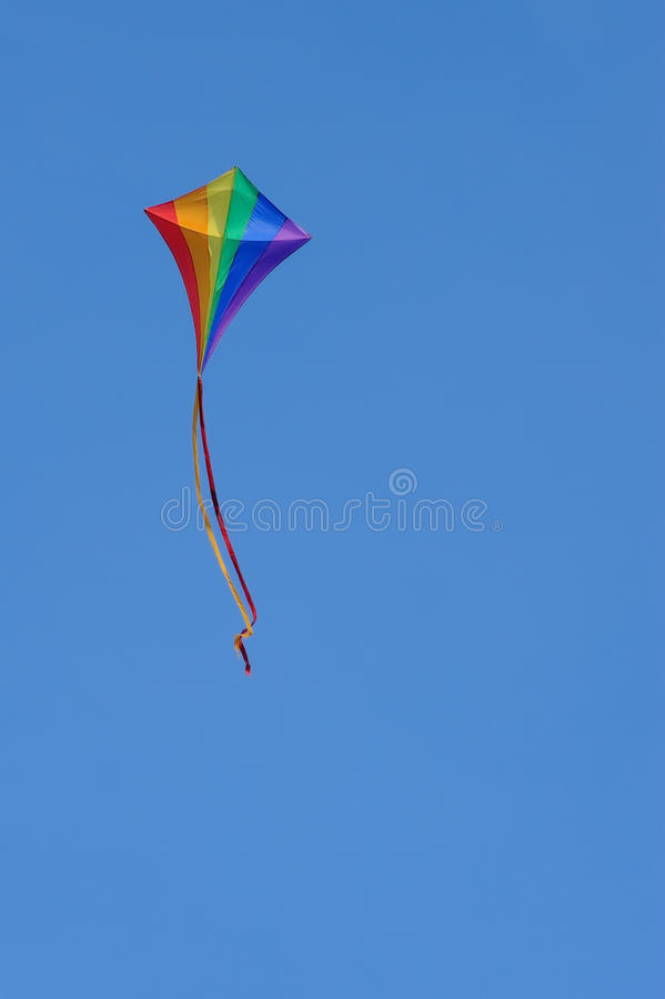 Free Flying A Kite Royalty Free Stock Image - 14722946