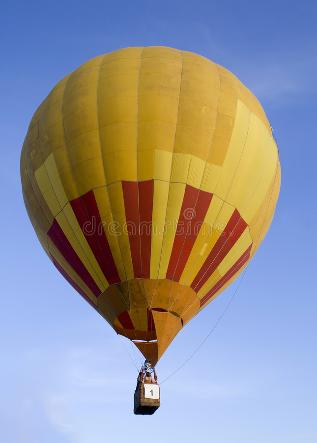 Download Flying air balloon stock photo. Image of balloons, airtravel - 2600224