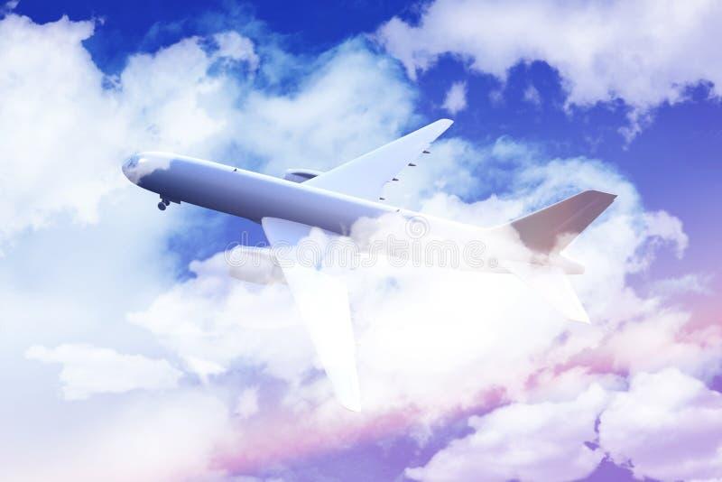 Download Flying Airliner stock illustration. Illustration of illustration - 24807113