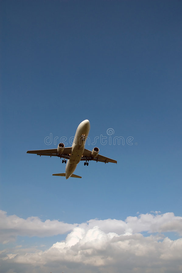 Free Flying Airplane Royalty Free Stock Photo - 2447785