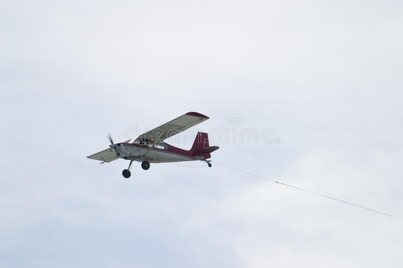 Flying Airplane royalty free stock image