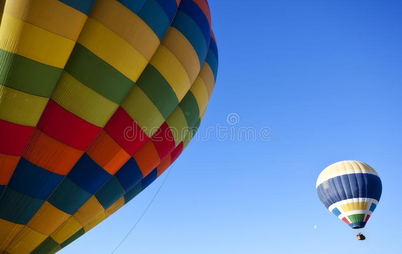 Download Flying balloons stock photo. Image of sightseeing, lift - 12877988