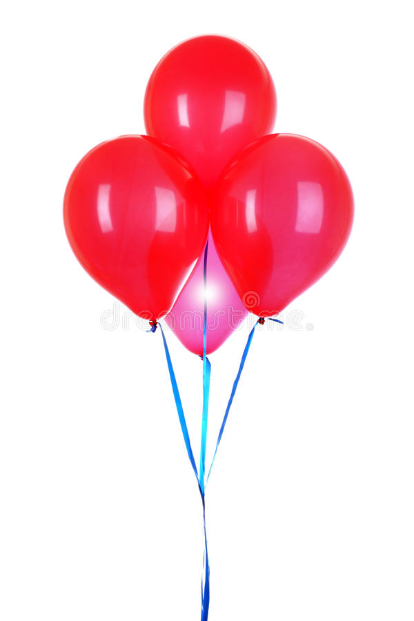 Download Flying balloons isolated stock photo. Image of object - 18040868