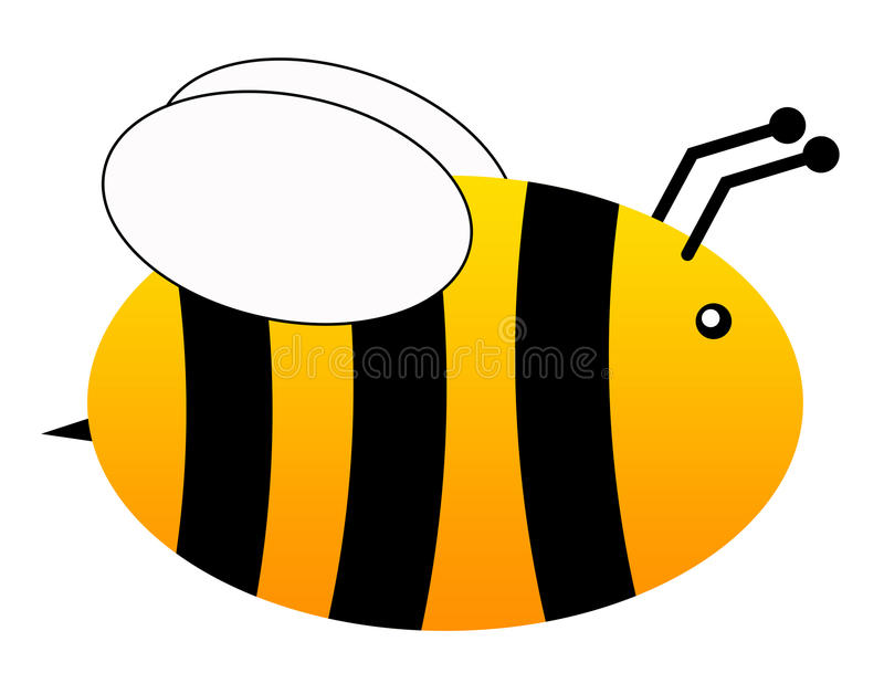 Download Flying bee stock illustration. Image of environment, insect - 18765618