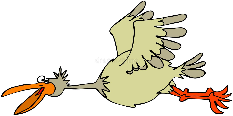 Download Flying bird stock illustration. Image of illustration - 25764898