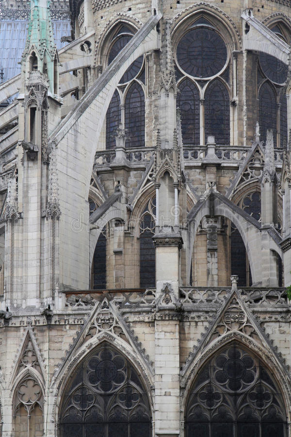 Download Flying Buttress Stock Photo Image Of France Gothic