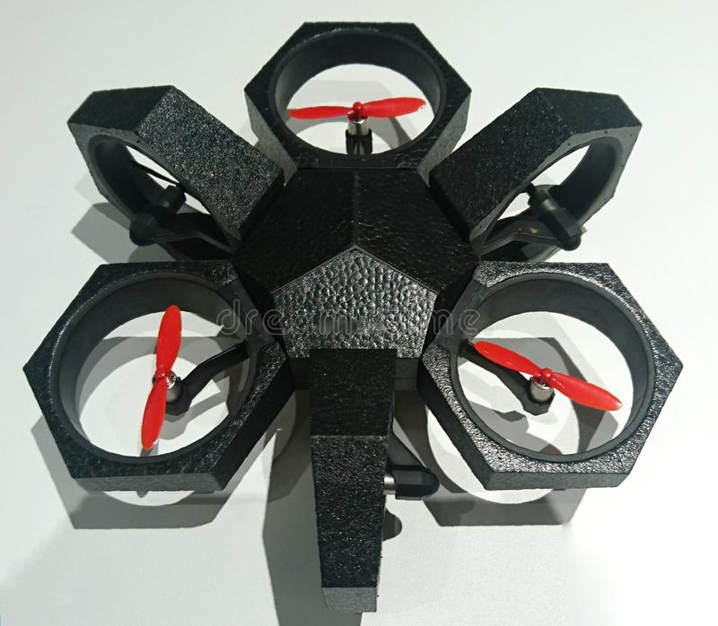 Flying Camera stock image