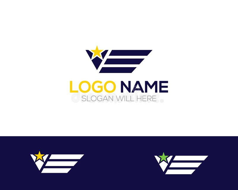 Flying Company Logo Template online store vectors illustration. This is very easy to use. U ca Use as your won simply vector illustration