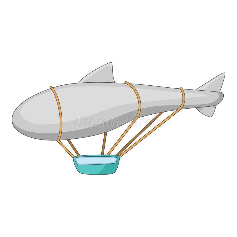 Flying Dirigible Airship Blimp Air Vector Beautiful