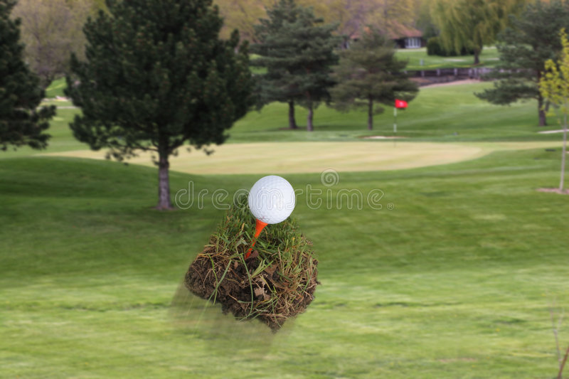 Download Flying Divot stock image. Image of golf, divot, dimples - 115241