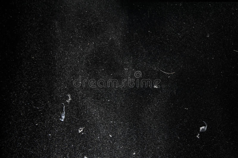 Flying Dust and lint particles royalty free stock photo