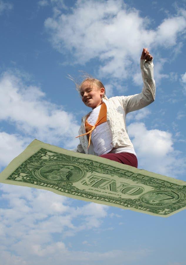 Flying economy stock images