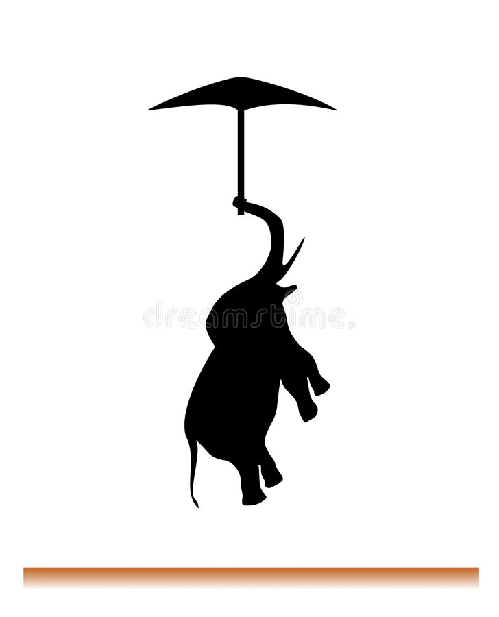 Free Flying Elephant Stock Images - 2430274