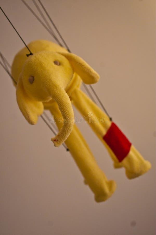flying elephant royalty free stock image