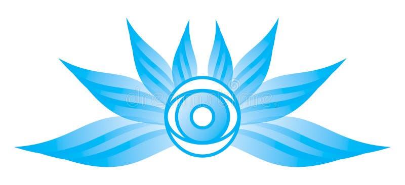 Download Flying Eye Ball stock vector. Illustration of iris, visual - 6010701
