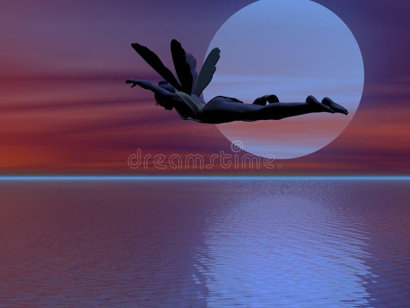 Flying Fairy Royalty Free Stock Photo