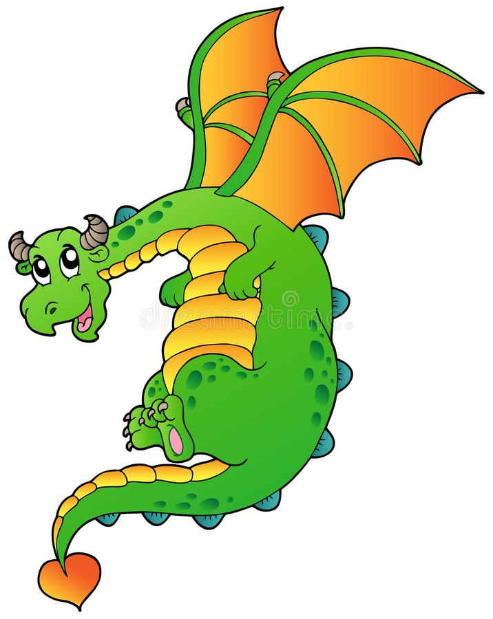 Download Flying fairy tale dragon stock vector. Illustration of fantasy - 19484881
