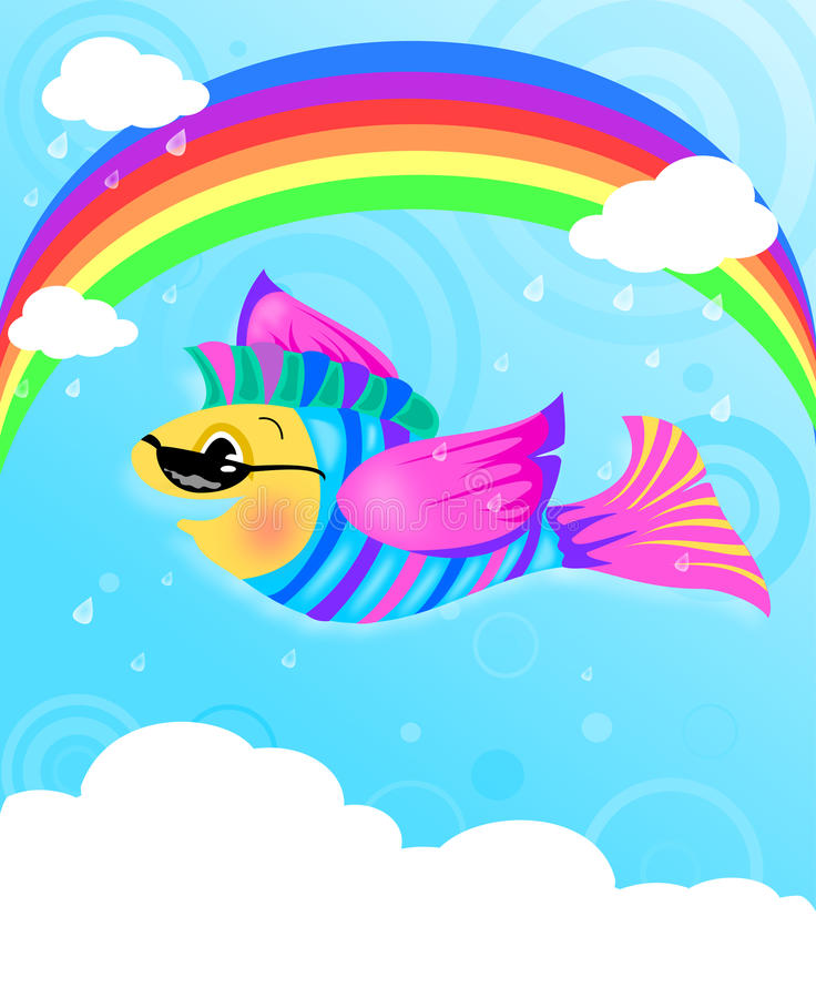 Flying Fish Stock Image