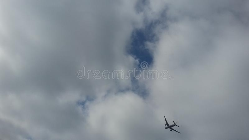 Flying high royalty free stock photography