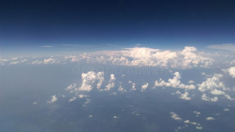 Flying high stock images