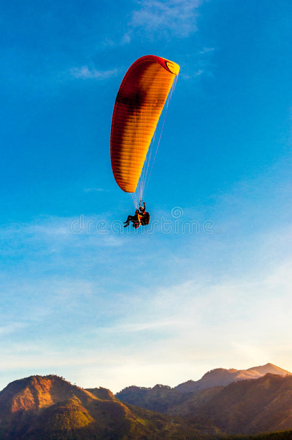 Flying royalty free stock image