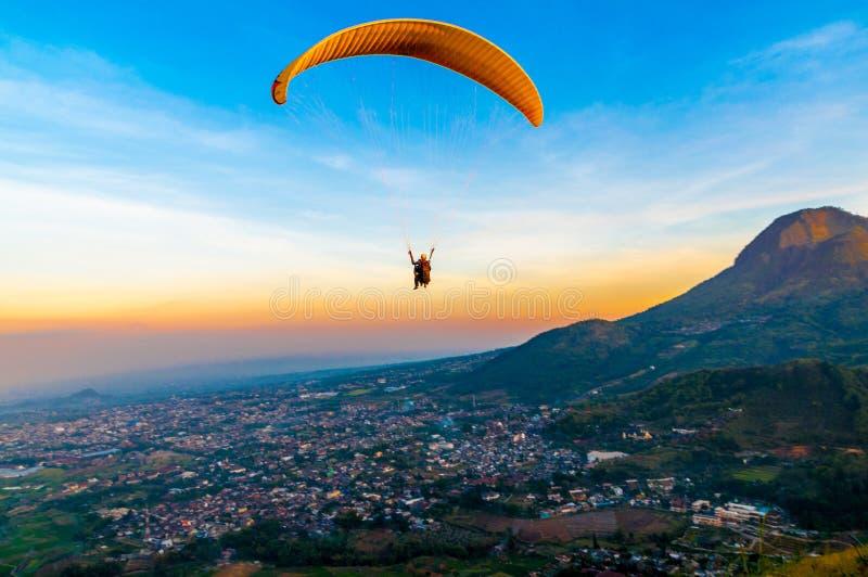 Flying stock photo