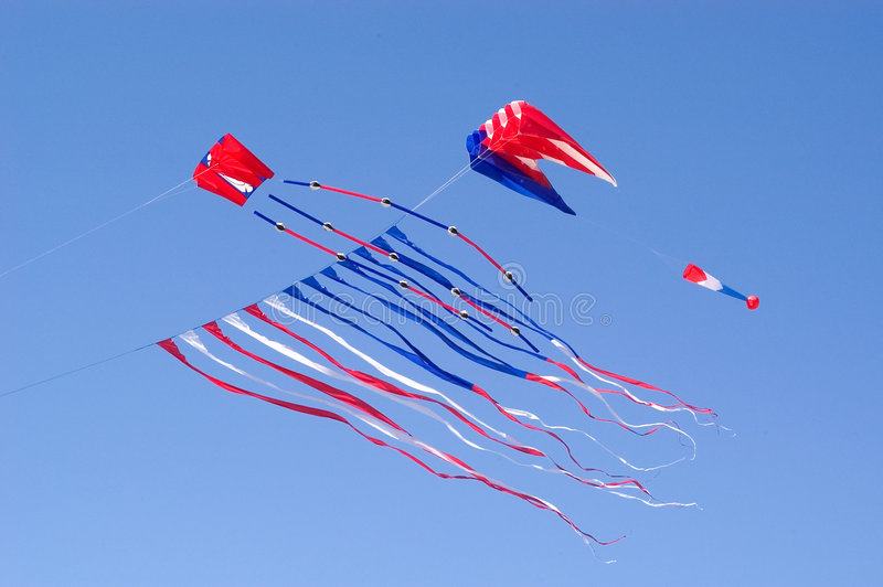 Download Flying Kite stock photo. Image of colorful, streamers, flying - 102004