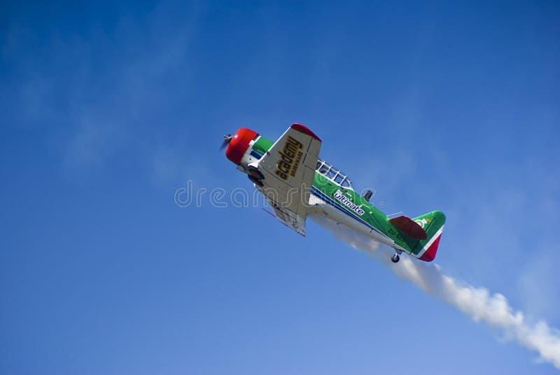 Flying Lion - ZU-BEU - Barrel Roll Maneuver stock image