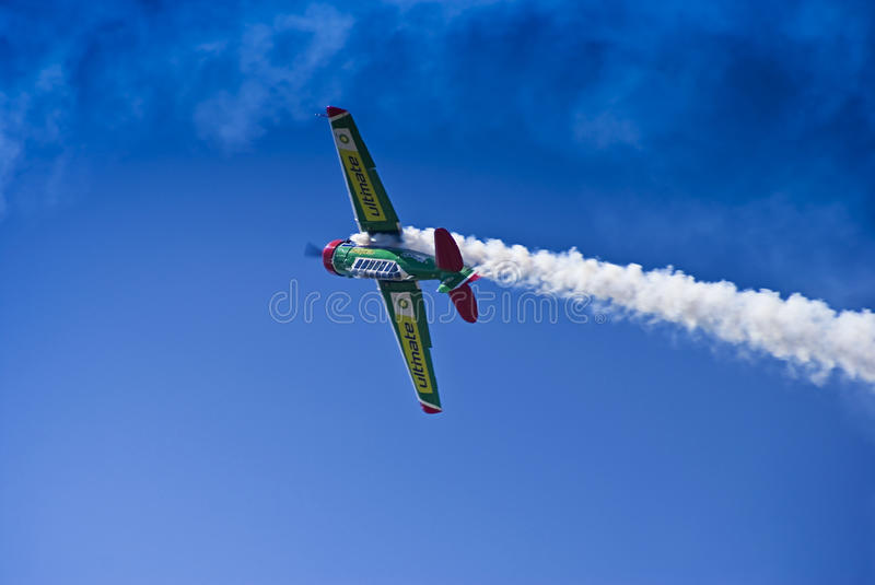 Download Flying Lion - ZU-BEU - Barrel Roll Maneuver Editorial Stock Photo - Image: 14095153