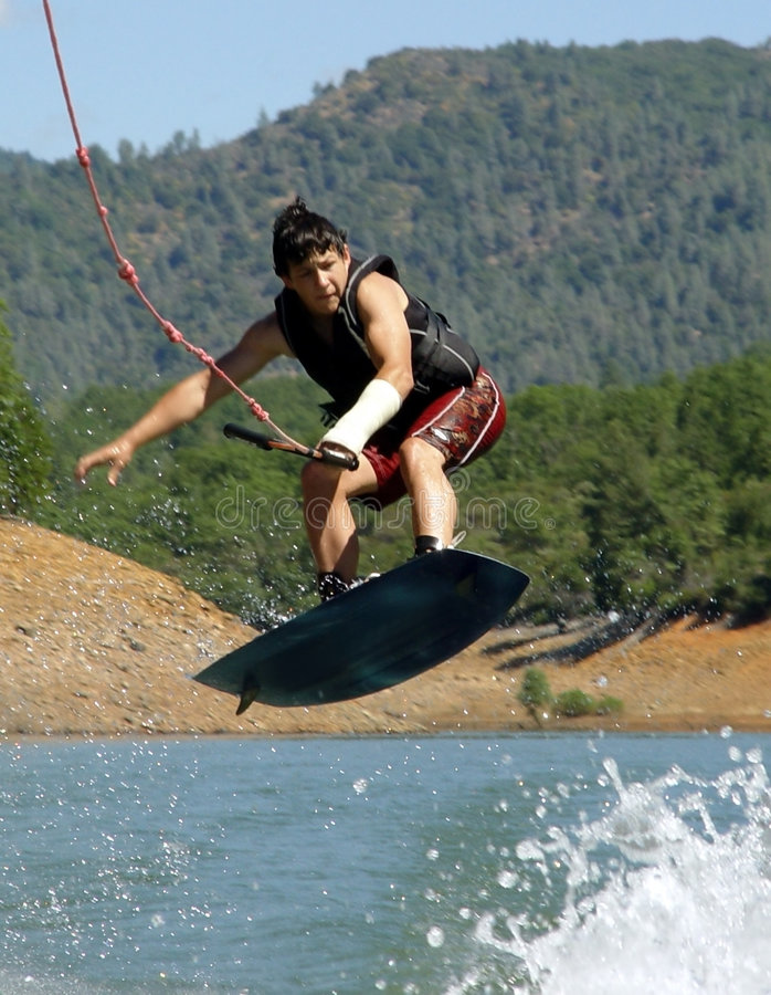Download Flying low stock photo. Image of river, jumping, boarding - 48074