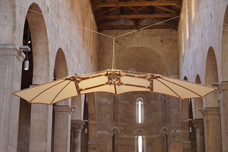 Flying machine royalty free stock image
