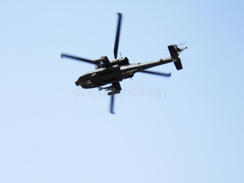 Flying military transport helicopter special for war soldier stock photos