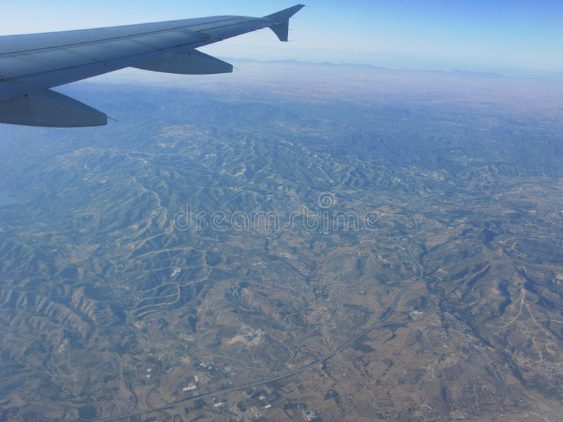 Download Flying over Greece stock image. Image of plane, flight - 25419729