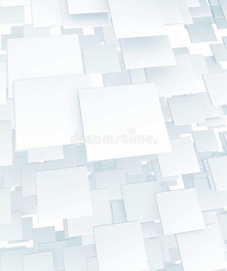 Flying rectangle background vector illustration
