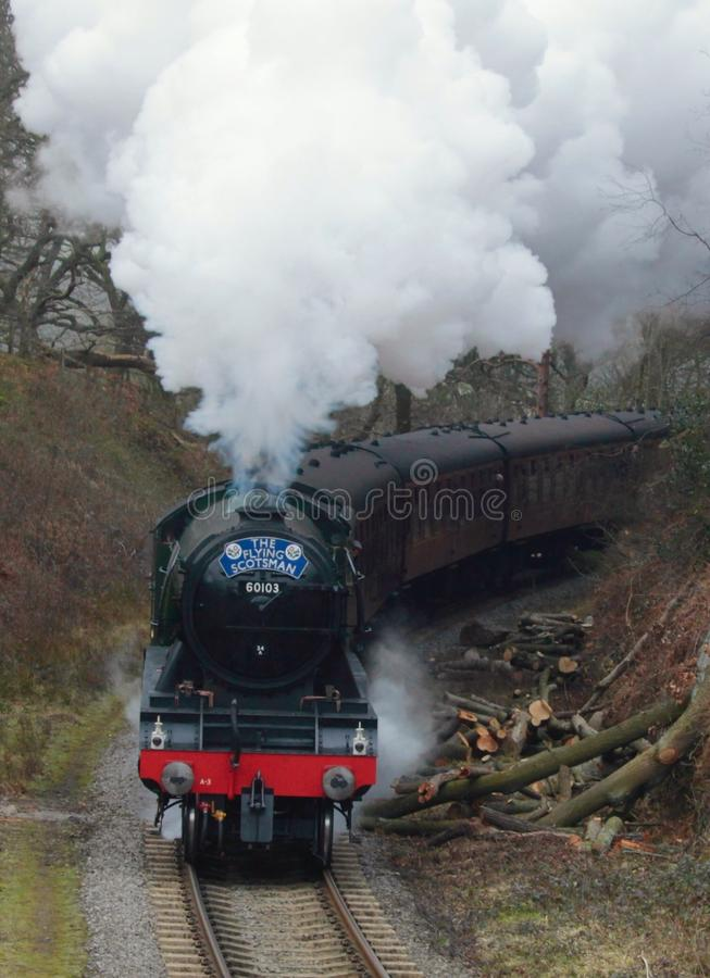 Free Flying Scotsman Royalty Free Stock Images - 86124339