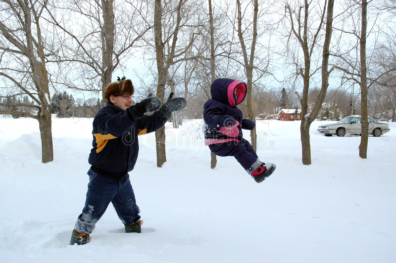 Download Flying Through the Snow stock photo. Image of games, playing - 64074