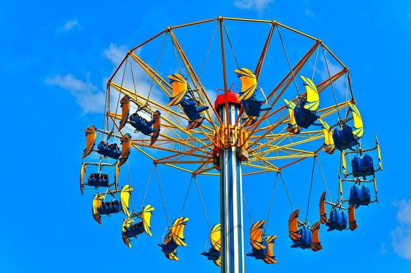 Flying swing stock photography
