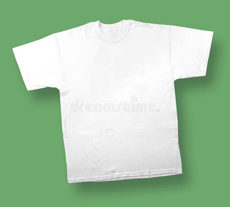 Flying T-shirt stock photography