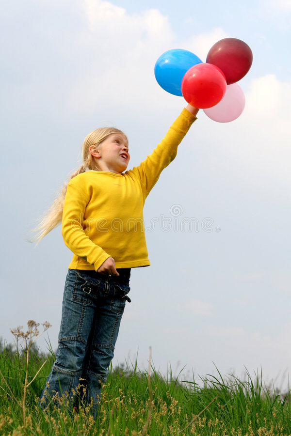 Flying to heaven royalty free stock image