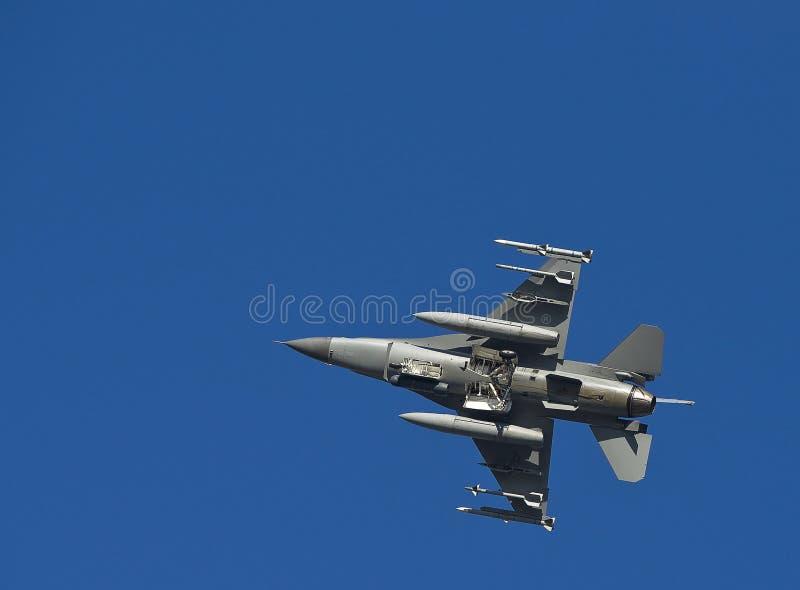 Flyover F-16 fotografia stock