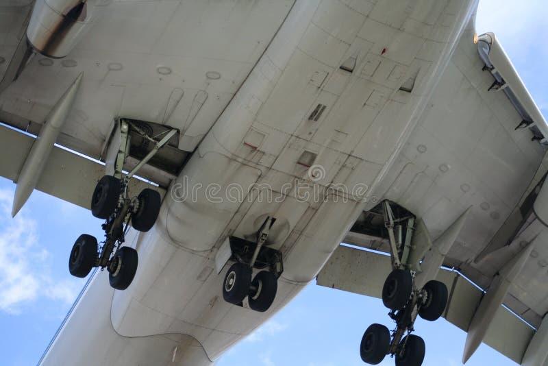 flypast statku powietrznego zdjęcie royalty free