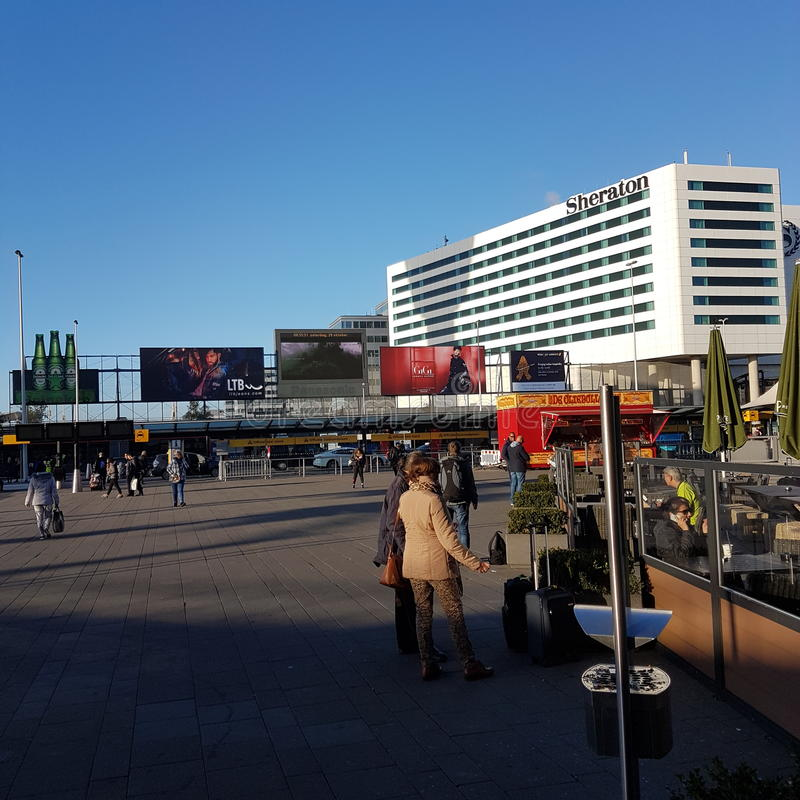 Flystation Амстердам стоковое изображение rf