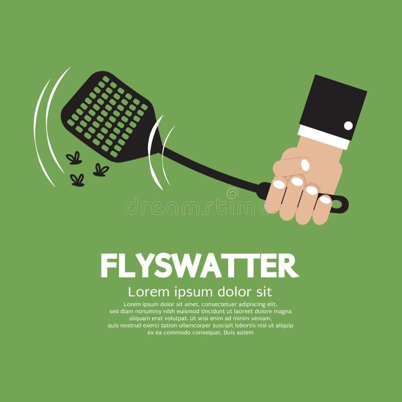 flyswatter stock illustrationer