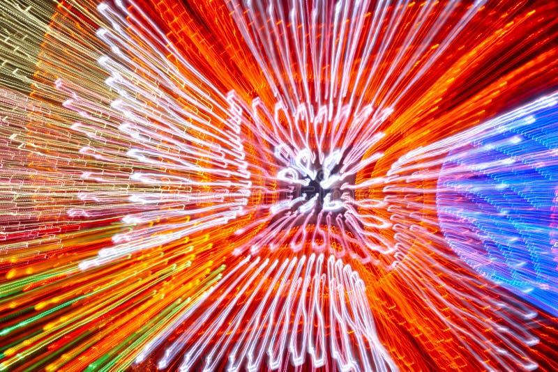 Flyttande kulör ljusbakgrund Abstrakt bakgrund stock illustrationer
