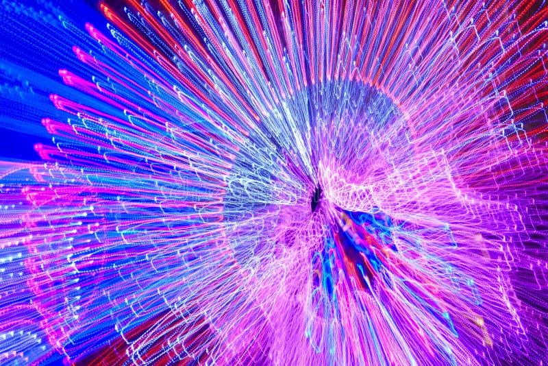 Flyttande kulör ljusbakgrund Abstrakt bakgrund vektor illustrationer