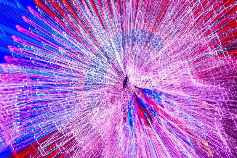 Flyttande kulör ljusbakgrund Abstrakt bakgrund horisontal stock illustrationer